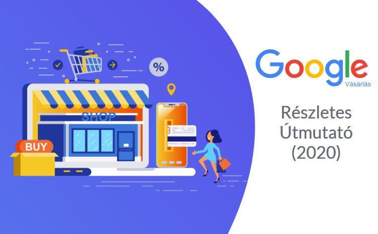Google Shopping bemutató kép